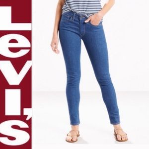 Levi's 721 High Rise Skinny Jeans (CUSTOM CUT)